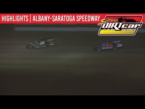Super DIRTcar Series Big Block Modifieds Albany-Saratoga Speedway June 25, 2019 | HIGHLIGHTS