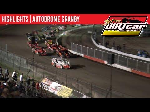 Super DIRTcar Series Big Block Modifieds Autodrome Granby July 23, 2019 | HIGHLIGHTS