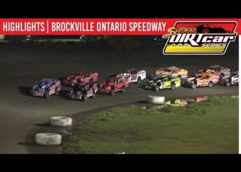 Super DIRTcar Series Big Block Modifieds Brockville Ontario Speedway October 18, 2019 | HIGHLIGHTS