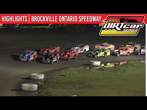 Super DIRTcar Series Big Block Modifieds Brockville Ontario Speedway October 18, 2019 | HIGHLIGHTS