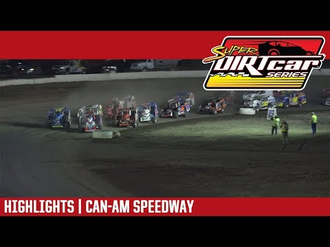 Super DIRTcar Series Big Block Modifieds Can-Am Speedway April 13, 2019 | HIGHLIGHTS