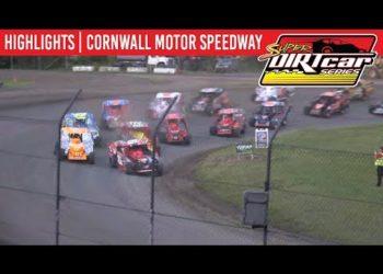 Super DIRTcar Series Big Block Modifieds Cornwall Motor Speedway June 30, 2019 | HIGHLIGHTS
