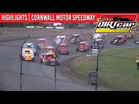 Super DIRTcar Series Big Block Modifieds Cornwall Motor Speedway June 30, 2019 | HIGHLIGHTS