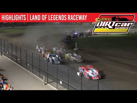 Super DIRTcar Series Big Block Modifieds Land of Legends Raceway July 4, 2019 | HIGHLIGHTS