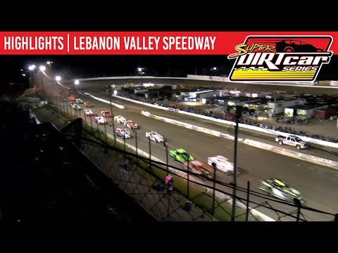 Super DIRTcar Series Big Block Modifieds Lebanon Valley Speedway August 31, 2019 | HIGHLIGHTS
