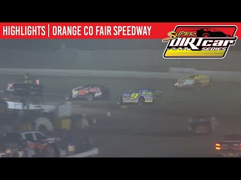 Super DIRTcar Series Big Block Modifieds Orange County Fair Speedway August 15, 2019 | HIGHLIGHTS