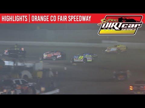 Super DIRTcar Series Big Block Modifieds Orange County Fair Speedway August 15, 2019   HIGHLIGHTS