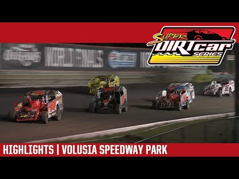 Super DIRTcar Series Big Block Modifieds Volusia Speedway Park February 13, 2019 | HIGHLIGHTS
