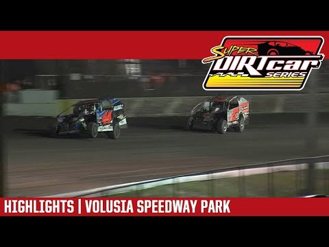 Super DIRTcar Series Big Block Modifieds Volusia Speedway Park February 16, 2019 | HIGHLIGHTS
