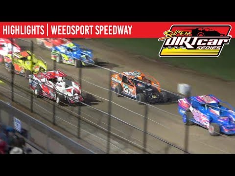 Super DIRTcar Series Big Block Modifieds Weedsport Speedway September 2, 2019 | HIGHLIGHTS