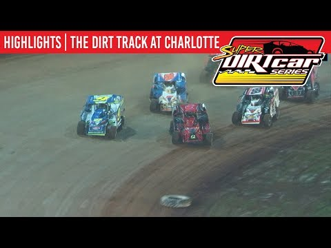 Super DIRTcar Series Big Block Modifieds The Dirt Track at Charlotte November 9th, 2019 | HIGHLIGHTS