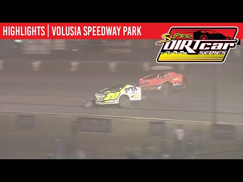Super DIRTcar Series Big Block Modifieds Volusia Speedway Park February 12th, 2020 | HIGHLIGHTS