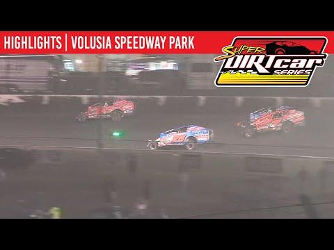 Super DIRTcar Series Big Block Modifieds Volusia Speedway Park February 13th, 2020 | HIGHLIGHTS