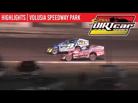 Super DIRTcar Series Big Block Modifieds Volusia Speedway Park February 14th, 2020 | HIGHLIGHTS