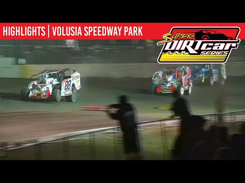 Super DIRTcar Series Big Block Modifieds Volusia Speedway Park February 15th, 2020 | HIGHLIGHTS