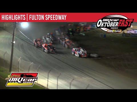 Super DIRTcar Series Big Block Modifieds Fulton Speedway October 8, 2020 | HIGHLIGHTS