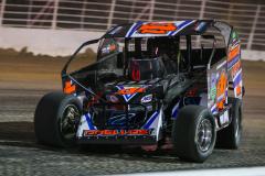 Salute the Troops 150 - NAPA Auto Parts Super DIRT Week XLVIII - Oswego Speedway - 111 Demetrios Drellos