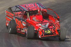 Billly Whittaker Cars 200 - NAPA Auto Parts Super DIRT Week XLVIII - Oswego Speedway - 91 Billy Decker
